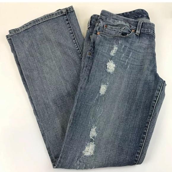 Seven7 Denim - Seven7 Womens Jeans Size 31 Bootcut Light Wash